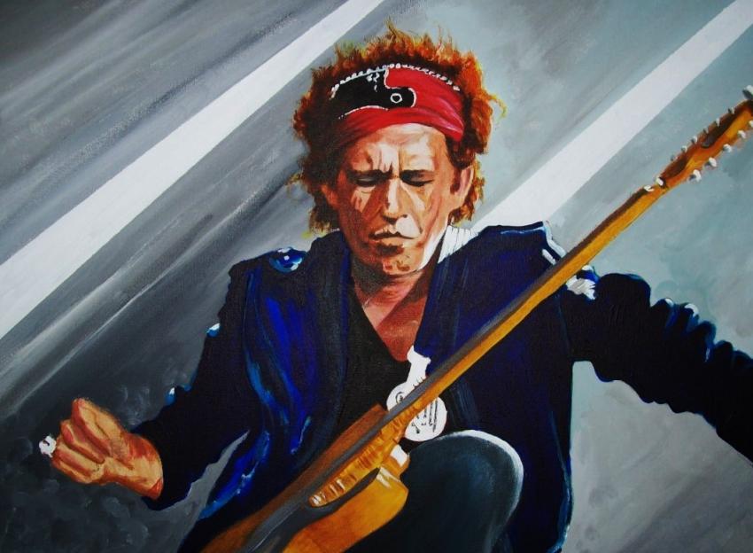Keith Richards by Tom-Heyburn